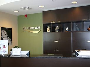 4U Dental Care Reception
