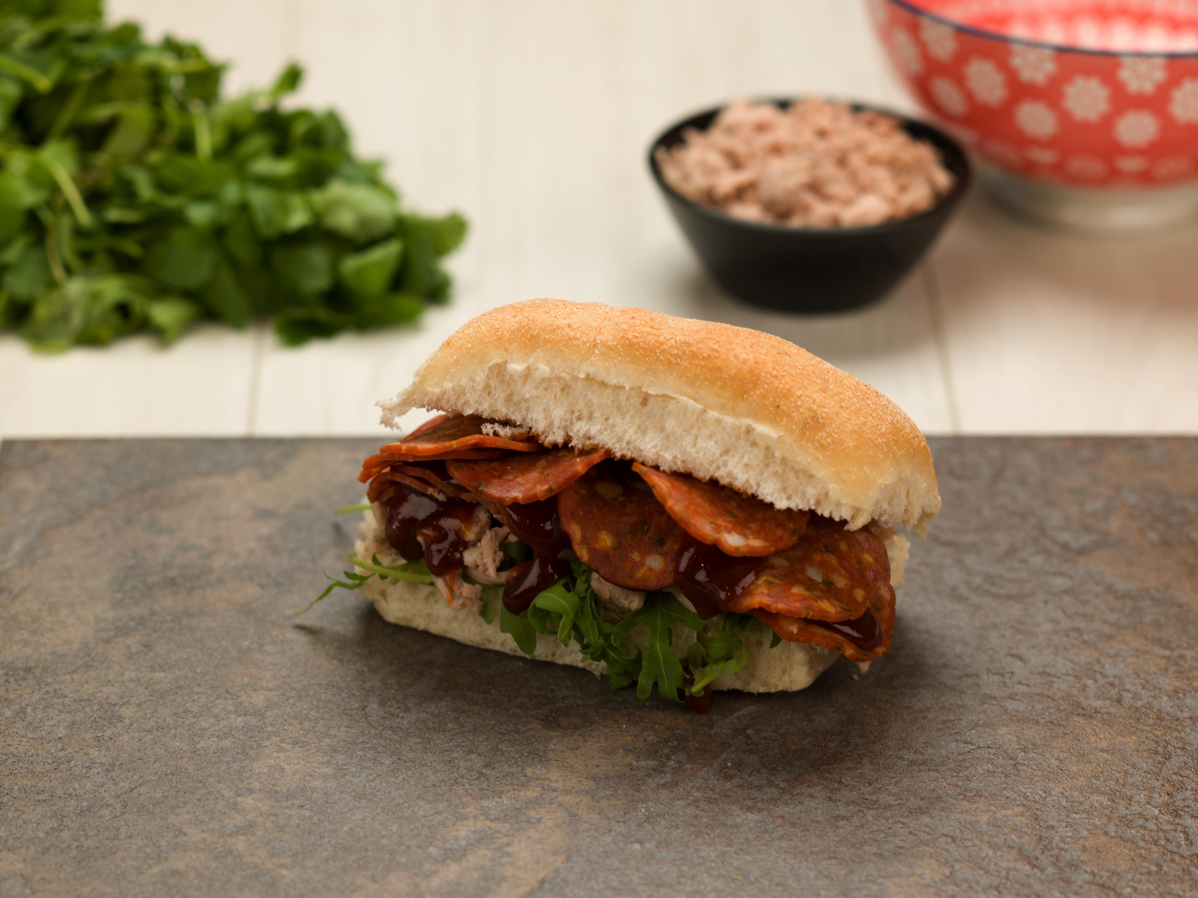 Spicy BBQ Sandwich