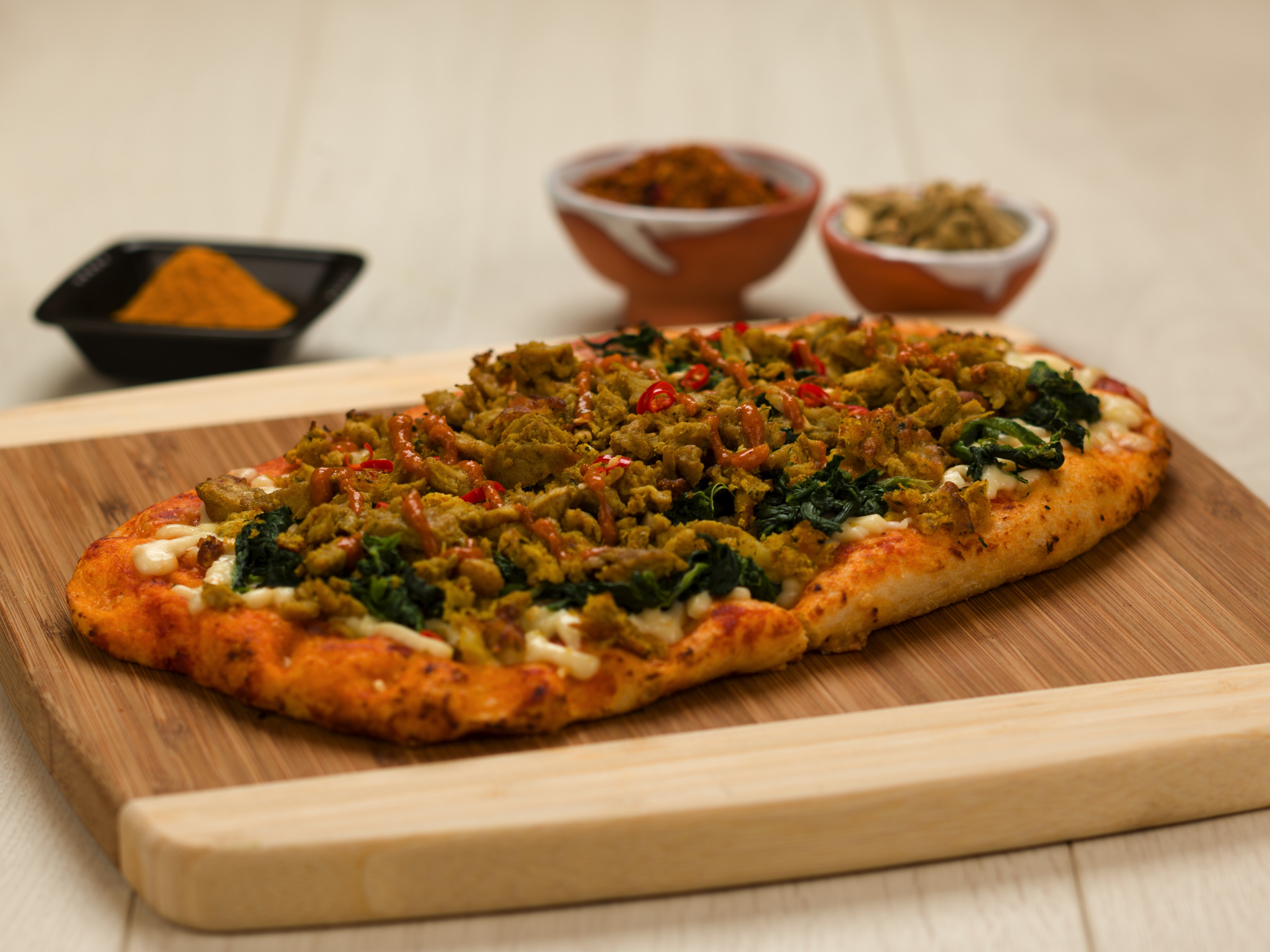 Indian Spice Pizza