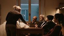 """Monica Guerritore, Claudio Spadaro, Eleonora Belcamino, Daniele Ferretti e Riccardo Maria Manera em """"Il Vestto da Sposa"""", dir. Rafael Farina Issas   A Fúria Filmes"""