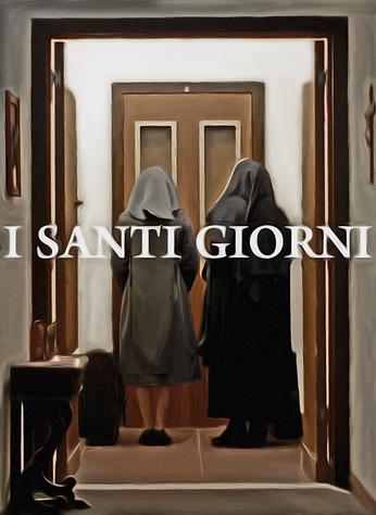 """Poster de """"I Santi Giorni""""  (em pós-produção) - Direção Rafael Farina Issas   A Fúria Filmes produtora"""