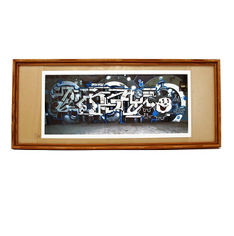 Dingo Print framed