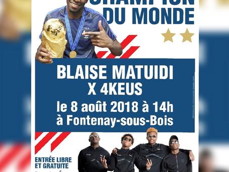 Partager une journée avec un Champion du Monde, c'est possible ...à Fontenay !