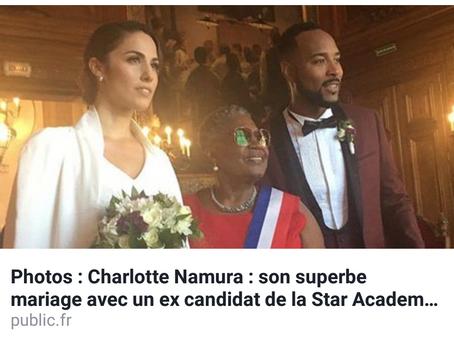 Wedding Day Act 1 de l'Animatrice Charlotte Namura & du Chanteur Jean-Luc Guizonne organisé