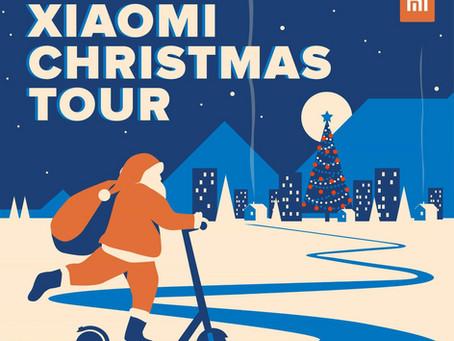 On dit OUI pour un Christmas Tour inédit avec Xiaomi !