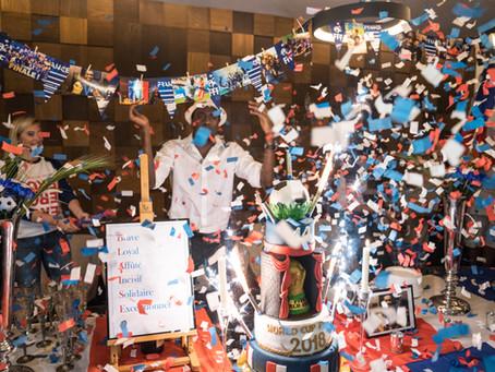 Une célébration de rigueur pour un Champion du Monde au grand coeur ...
