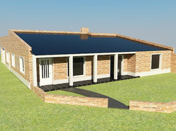Proyecto vivienda unifamiliar-Bº km