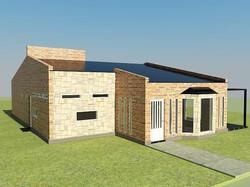 Proyecto vivienda Unifamiliar-Bº Bos