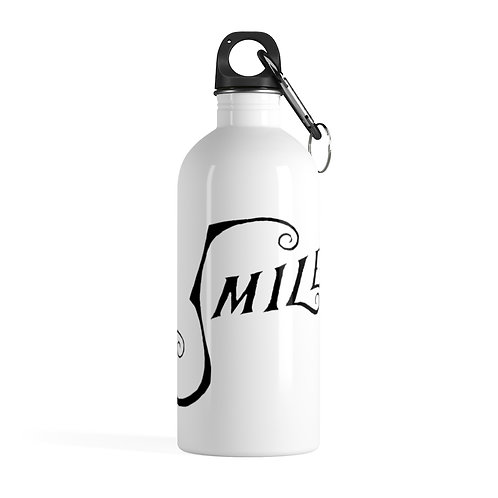 Smile Official Logo Stainless Steel Water Bottle