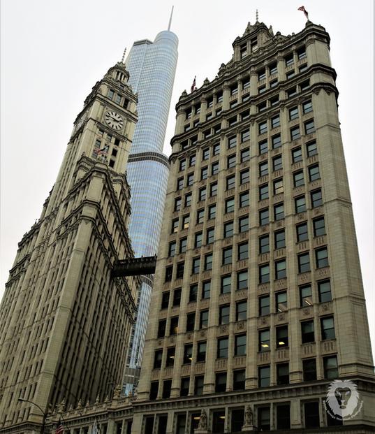Wrigley building.