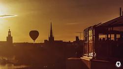 Stockholm Sunset.