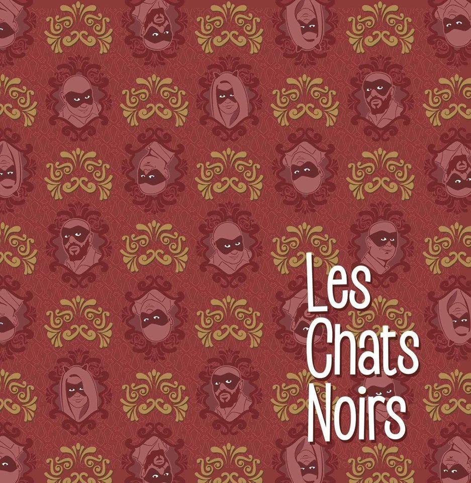 LES CHATS NOIRS