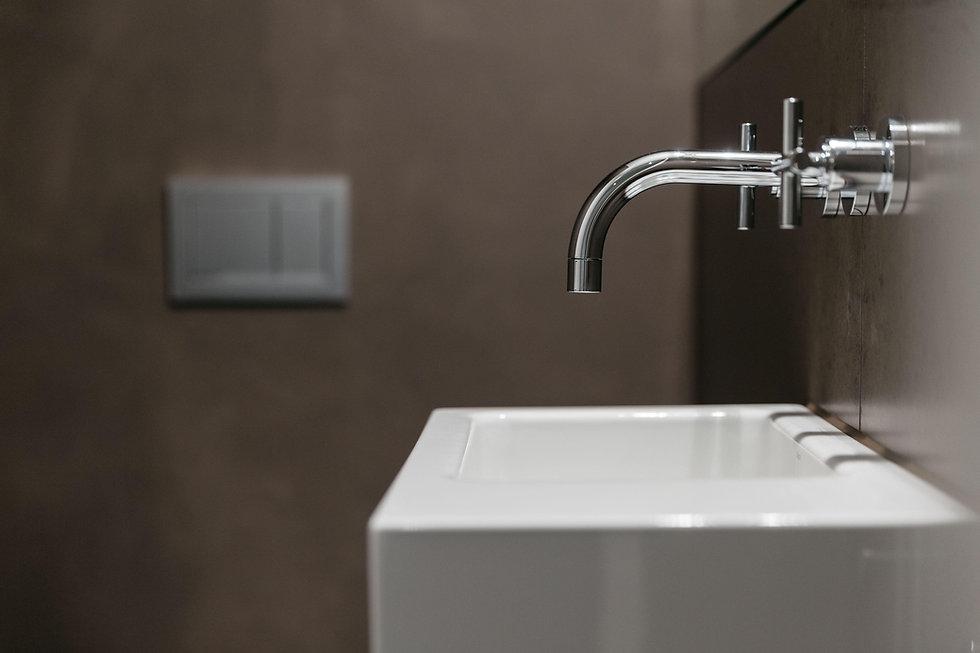 Waschbecken mit Wasserhahn | © Fabian Weber