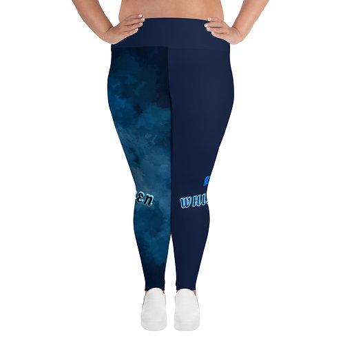 QW Plus Size Leggings Navy Blue
