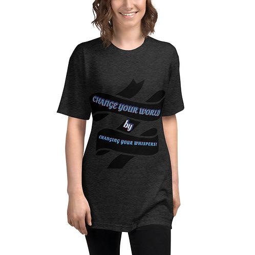 WhisperVise Unisex Tri-Blend Track Shirt