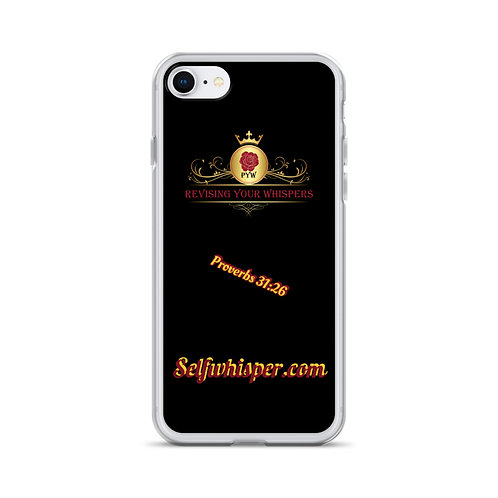 Self Whisper iPhone Case