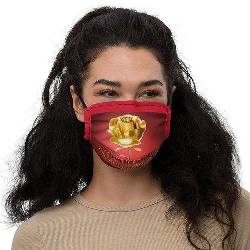 Self Whisper Gold Rose Face Mask