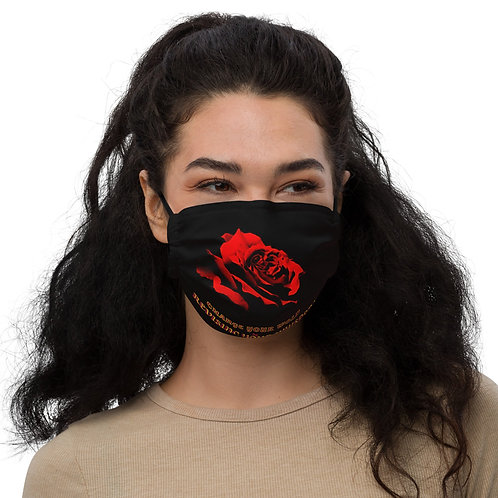 Spiritology Podcast Rose Face Mask