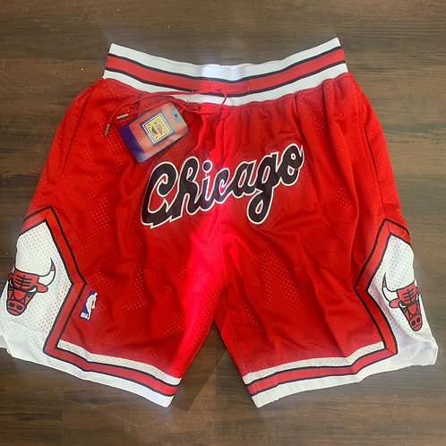 Just Don - Throwback Chicago Bulls Shorts
