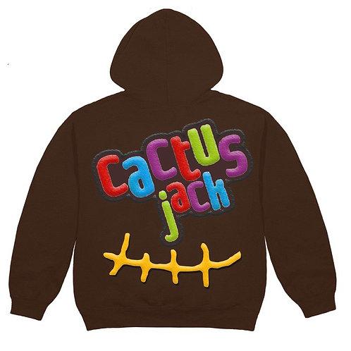 "Travis Scott x McDonalds - Cactus Jack ""CJ SMILE"" Hoodie"