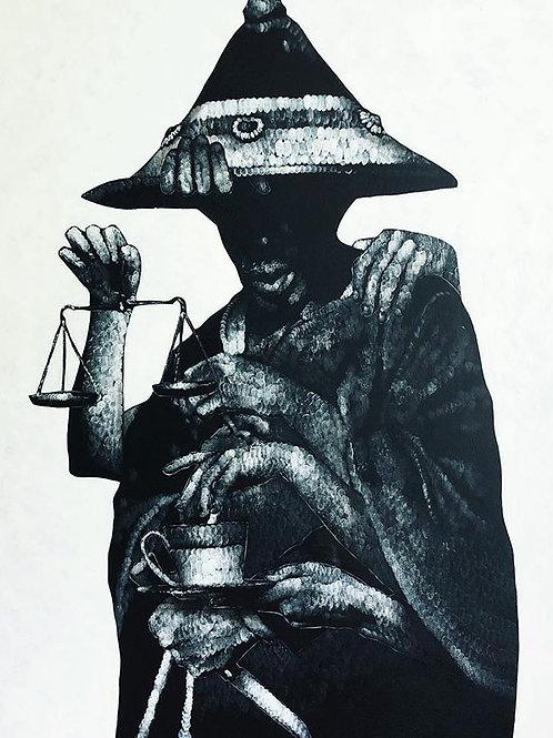 """Justice"" print"