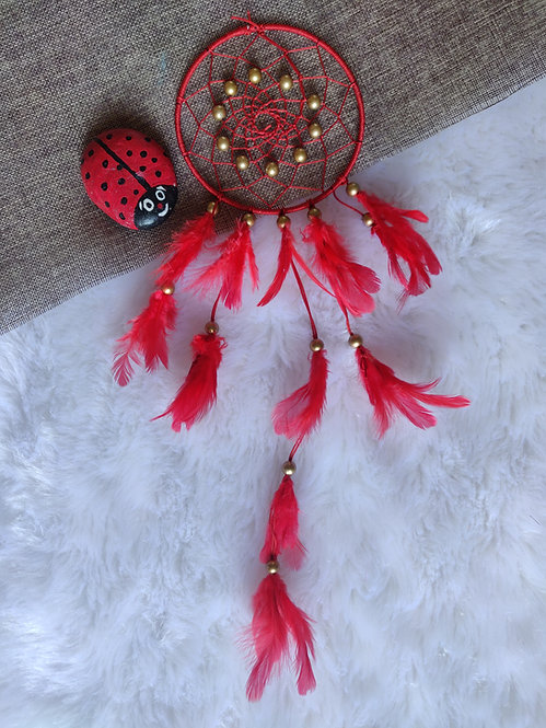 Dreamcatcher - Red Color (Small)