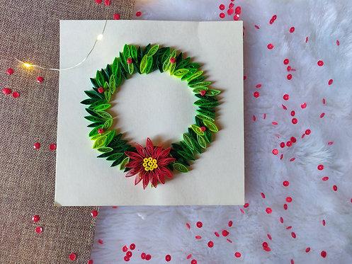 Paper Quilling Wreath