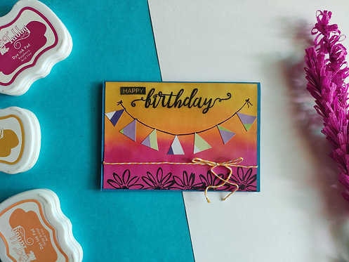 Handmade Greeting - Birthday