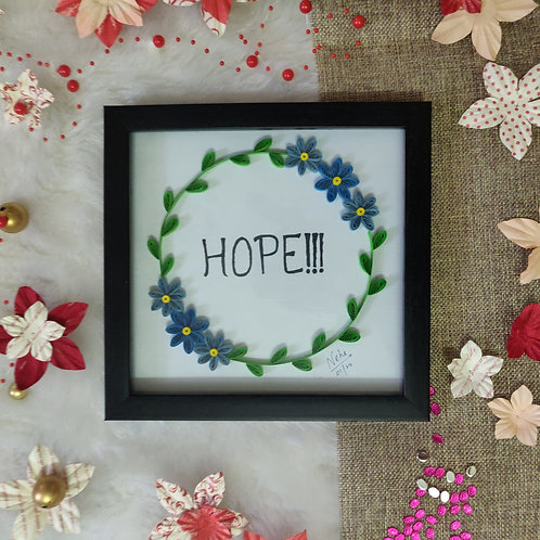 Paper Quilling - Hope