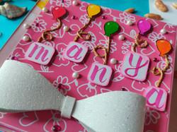 Handmade Baby Girl Scrapbook
