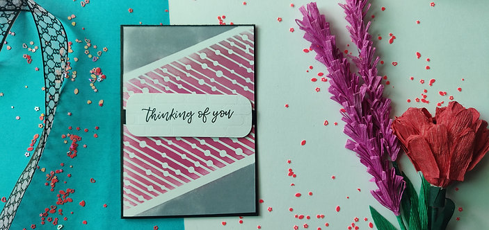 Handmade Greeting - Thinking of You