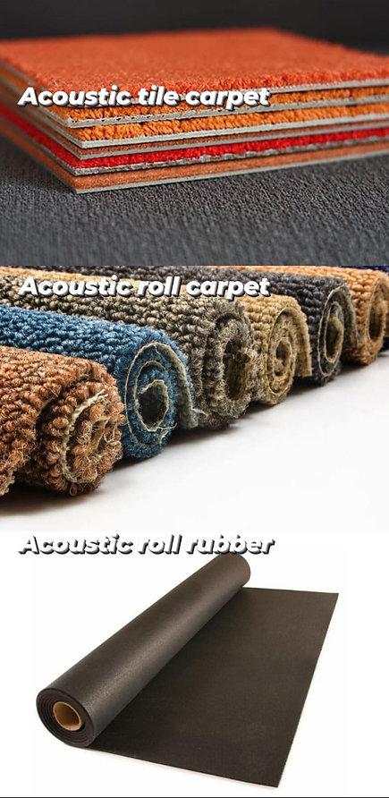 SOUND ISOLATION CARPET RUBBER