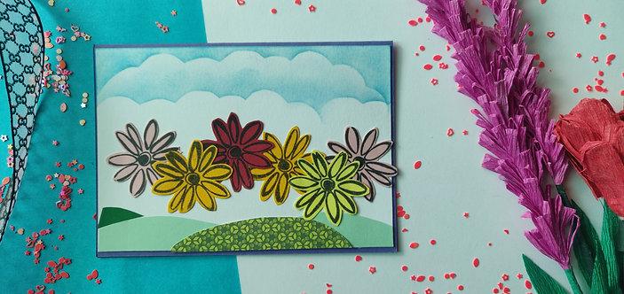 Handmade Greeting - Flowers