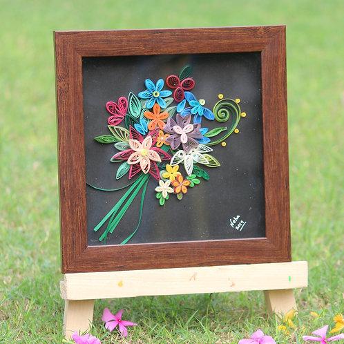 Paper Quilling - Floral Bouquet