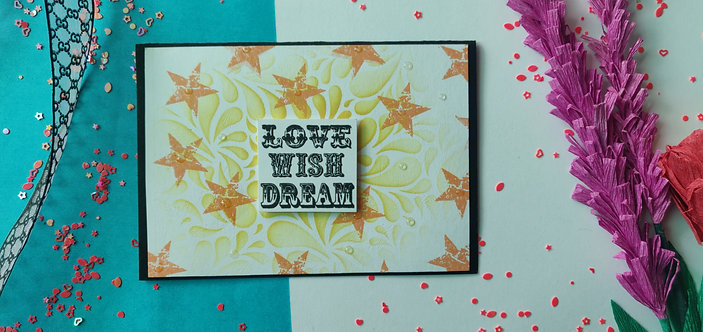 Handmade Greeting - Love Wish Dream