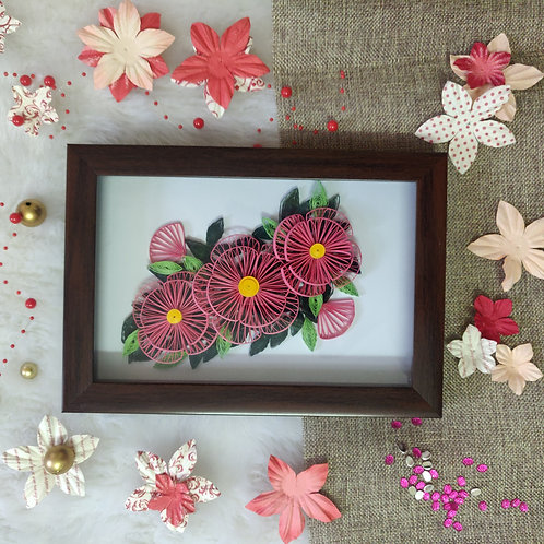 Paper Quilling - Lotus Field