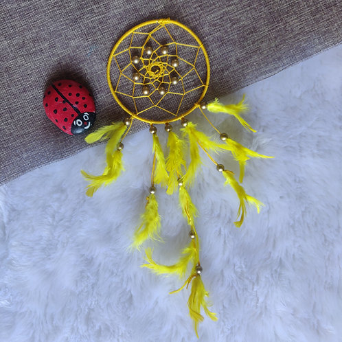 Dreamcatcher - Yellow Color (Small)