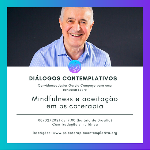 Diálogos Contemplativos com Javier Garcia Campayo