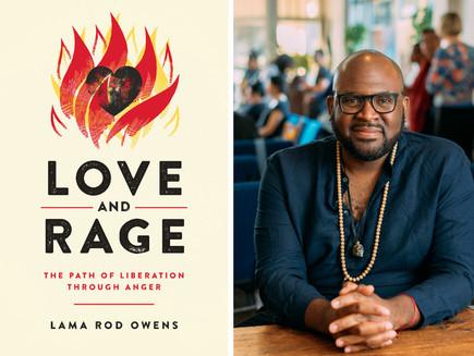 Amor e raiva: o novo livro do Lama Rod Owen