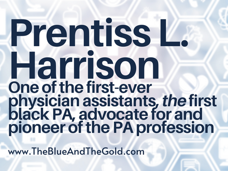Listening to Different Voices: Prentiss L. Harrison, PA Profession Pioneer