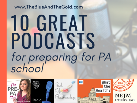 10 Great Podcasts for Preparing for PA School