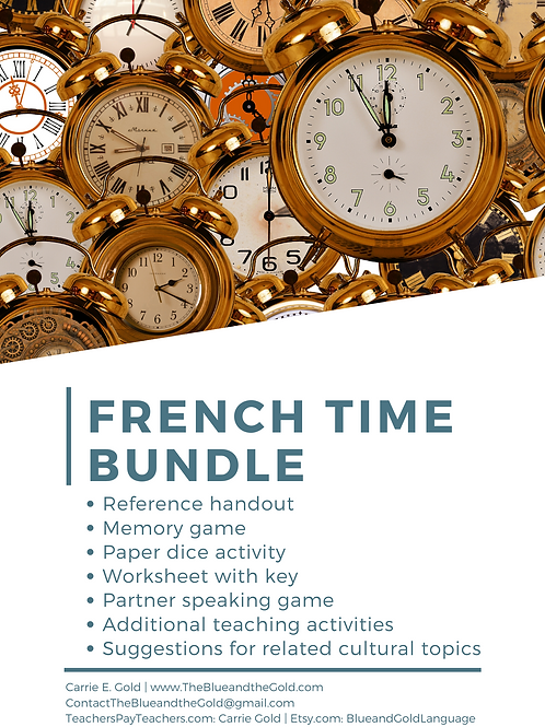French Time Bundle