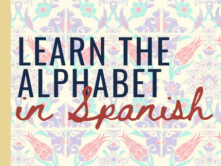 DIY Spanish: Learn the Alphabet