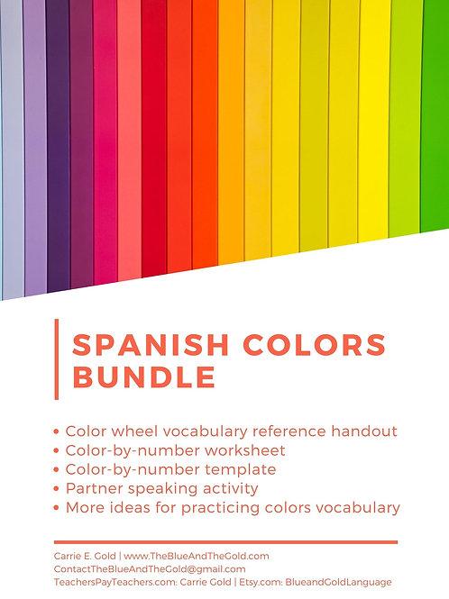 Spanish Colors Bundle