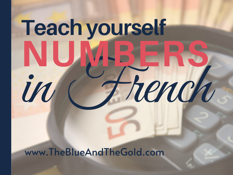 Learning Numbers in French