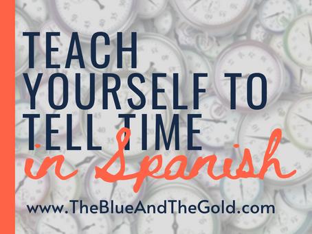 DIY Spanish: Telling Time