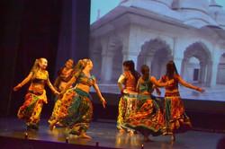 Bollywood dandia danse