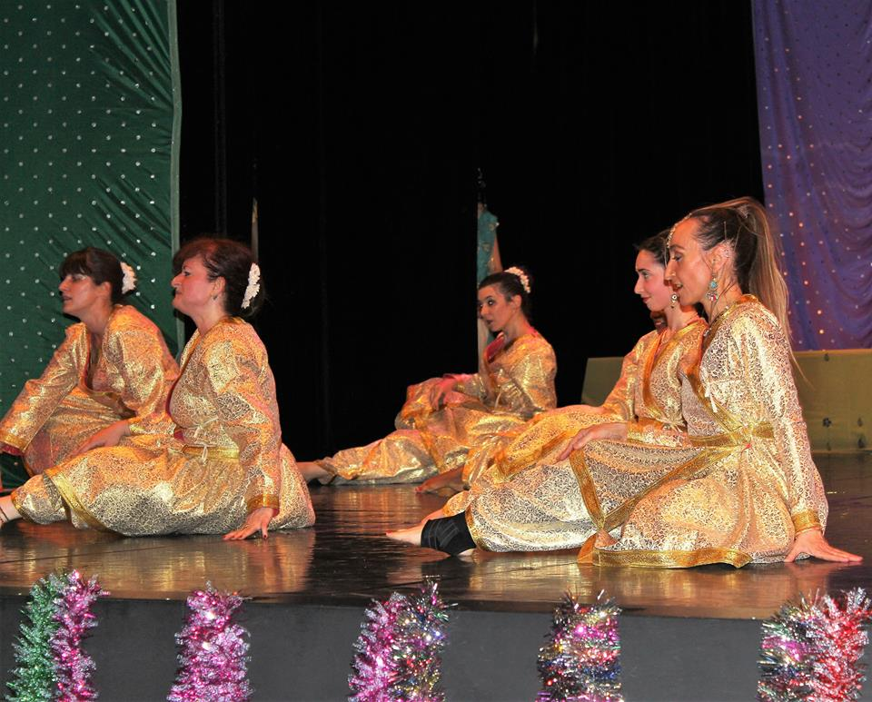 Spectacle de danse bollywood