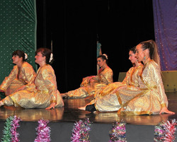 Spectacle de danse bollywood