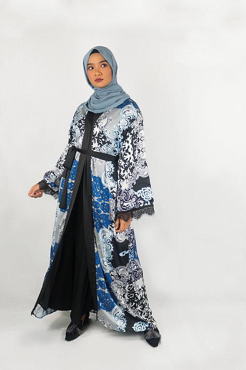 Baroque Lace Abaya